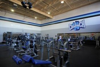 Crunch Fitness Gym in Richmond, VA weights exercise machines