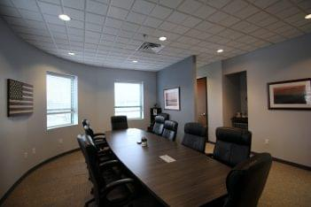 Grungo Colarulo Law Firm in Cherry Hill, NJ conference room