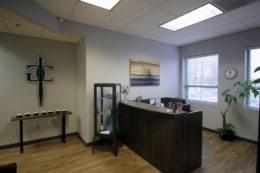 Grungo Colarulo Law Firm in Cherry Hill, NJ reception desk