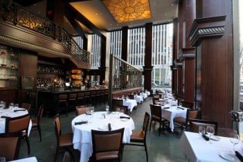 Del Frisco's Double Eagle Steak House in New York City bar