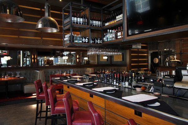 Del Frisco's Grill New York City Vesey St World Trade Center bar