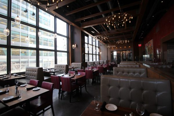 Del Frisco's Grill New York City Vesey St World Trade Center dining hall
