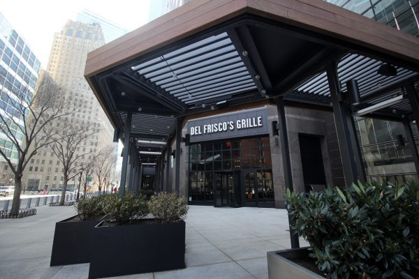 Del Frisco's Grill New York City Vesey St World Trade Center entrance