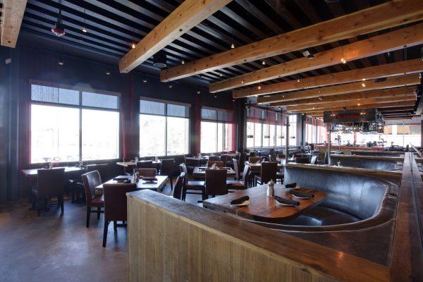Del Frisco's Grille Chestnut Hill MA dining area