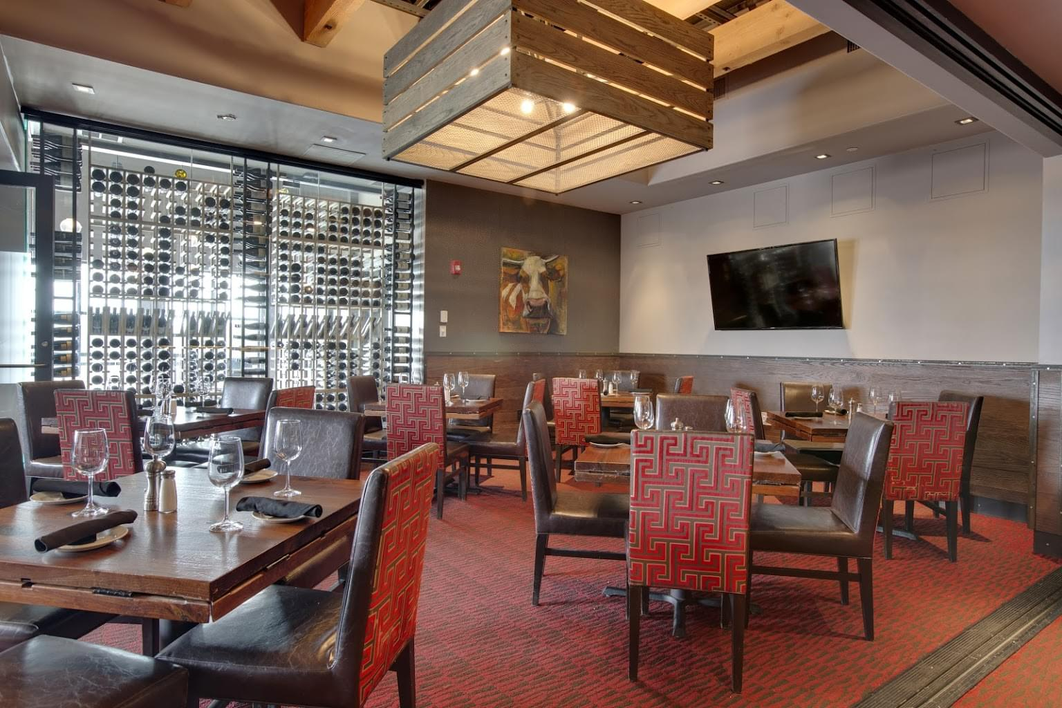 Del Frisco's Grille steakhouse Burlington MA private room