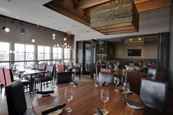 Del Frisco's Grille steakhouse Burlington MA upstairs