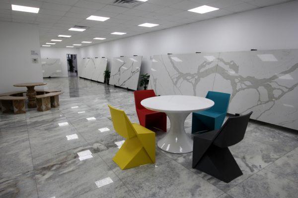 Reliance Stones - Granite & Marble supplier in Kenilworth, NJ showroom