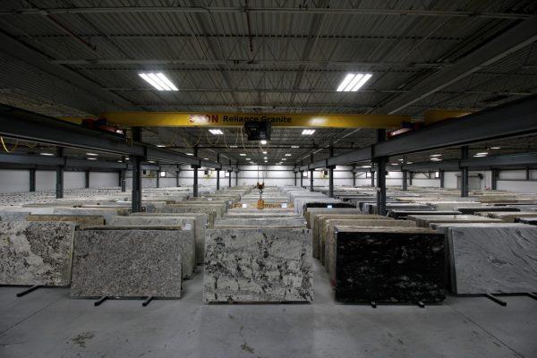 Reliance Stones - Granite & Marble supplier in Kenilworth, NJ warehouse