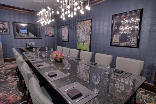Del Frisco's Double Eagle Steak House at the Galleria in Houston, TX private dining room