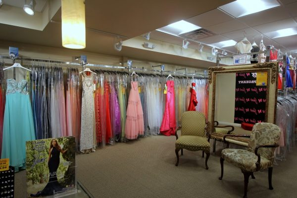 Jan's Boutique dress store in Cherry Hill, NJ upstairs