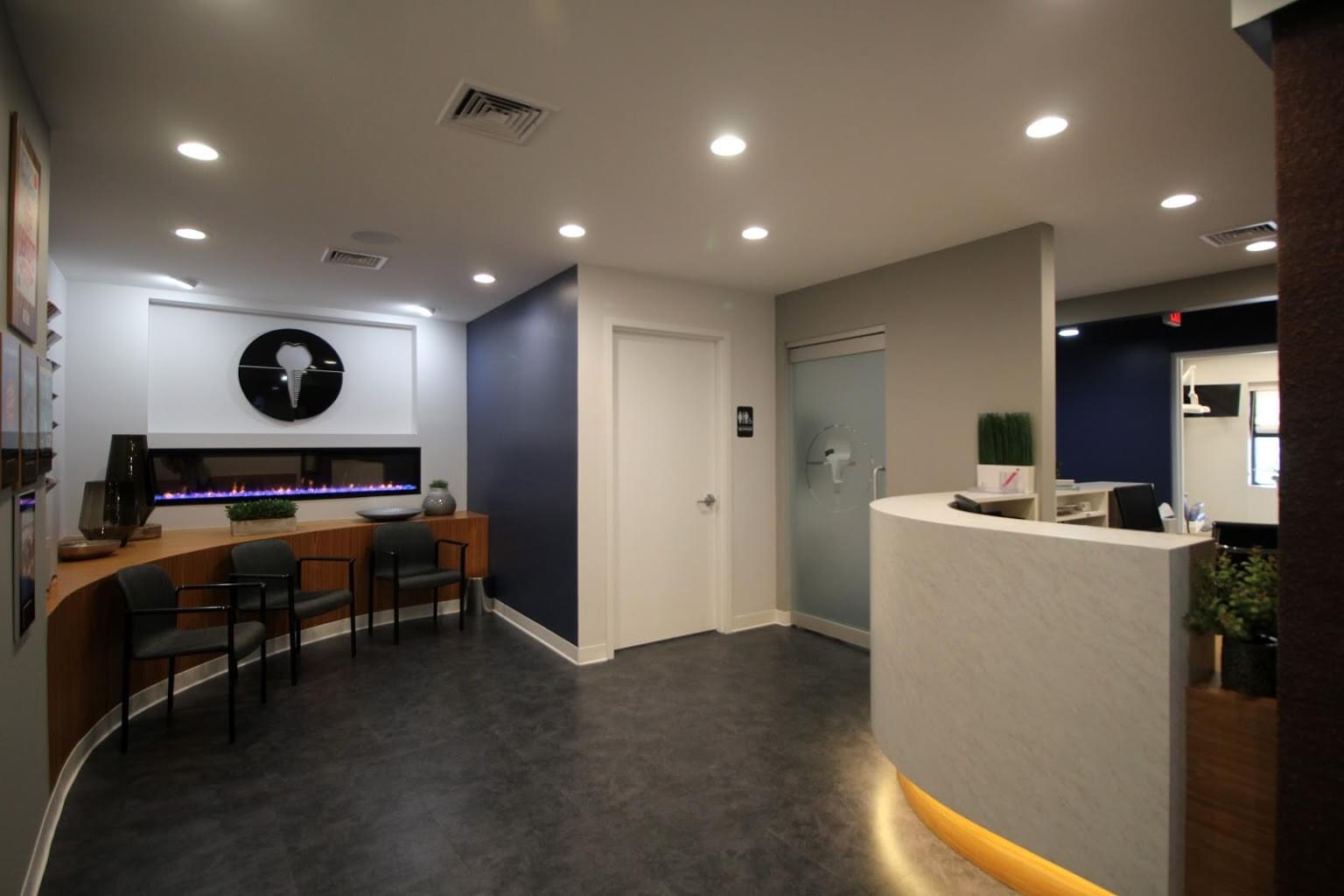 Edison Periodontics and Implantology Dental Office in Edison, NJ waiting room