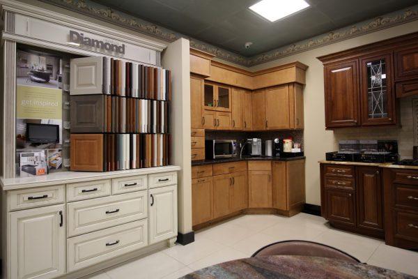 Onur Marble & Granite Building Materials Store in Fairless Hills, PA display room