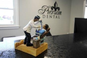 Pierson Dental Office in Sicklerville, NJ dentist figurine