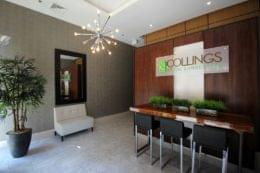 The Collings at The Lumberyard Apartment Complex in Collingswood, NJ lobby