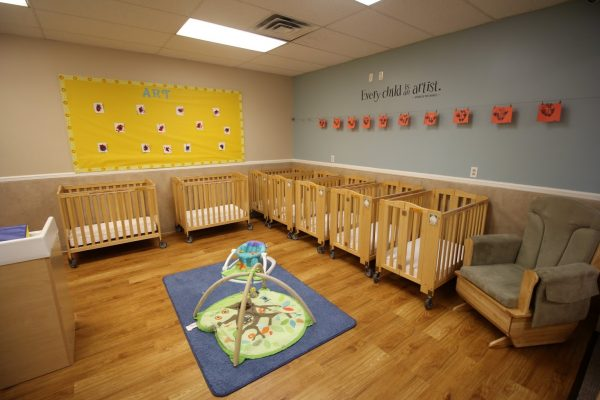 Lightbridge Academy Daycare in Cranford, NJ infant room cribs