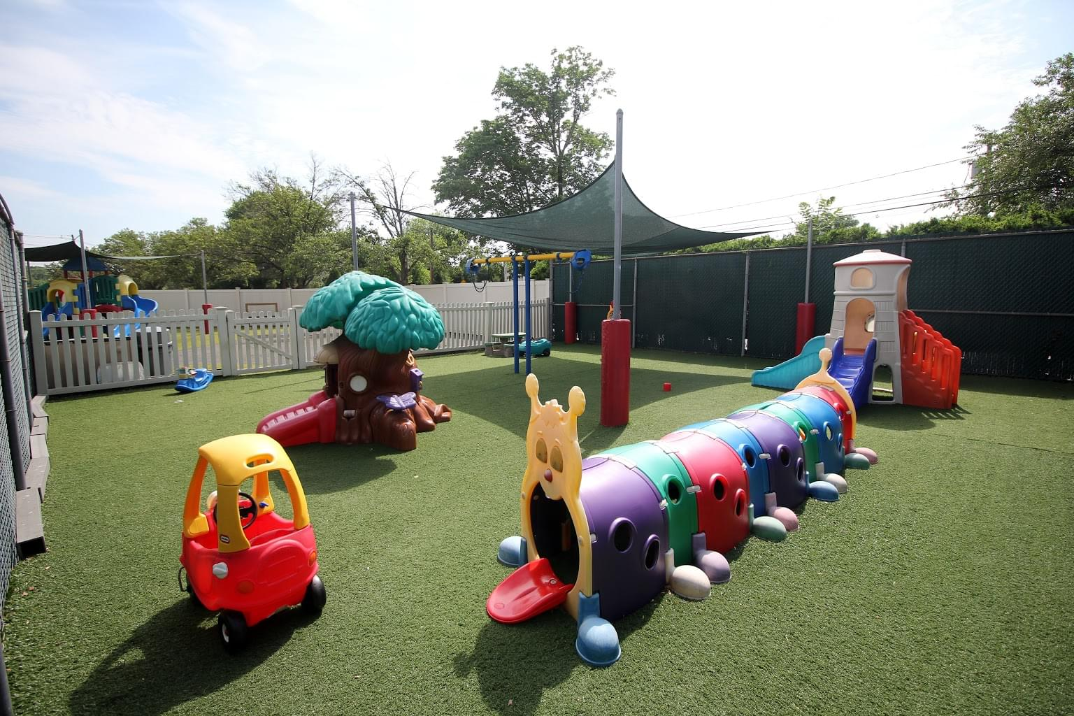 Lightbridge Academy Daycare in Cranford, NJ playground