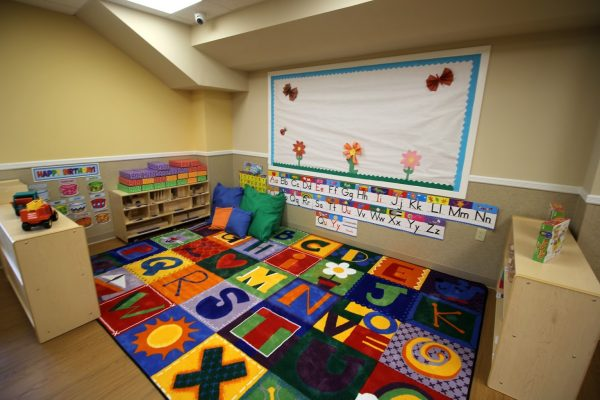 Lightbridge Academy Daycare in Fanwood, NJ alphabet rug