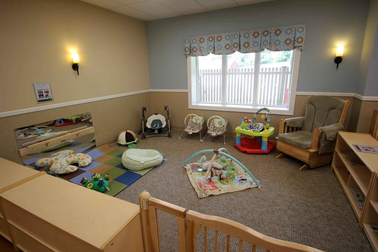 Lightbridge Academy Daycare in Fanwood, NJ infant playpen