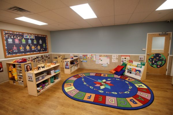 Lightbridge Academy Daycare in Iselin, NJ classroom rug