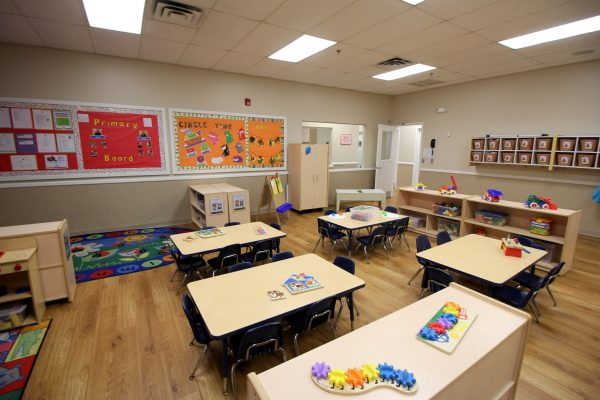 Lightbridge Academy Daycare in Woodbridge, NJ classroom tables