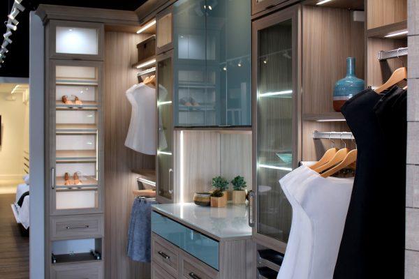California Closets Interior Designer in Santa Monica, CA shirts closeup