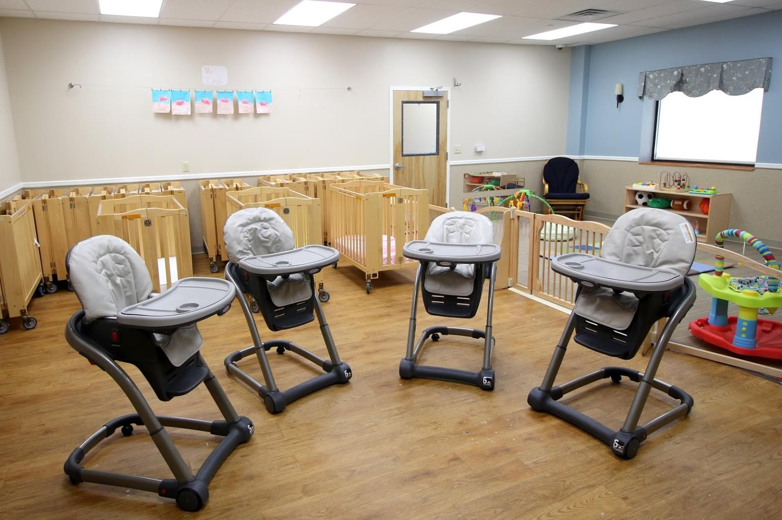 Lightbridge Academy Day Care Center in Clifton, NJ infant high chairs