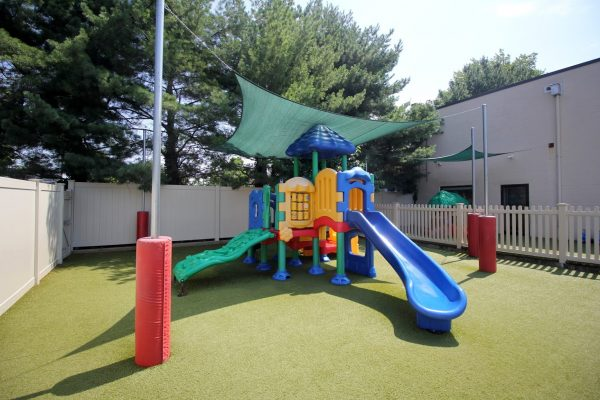 Lightbridge Academy Day Care Center in Clifton, NJ playground