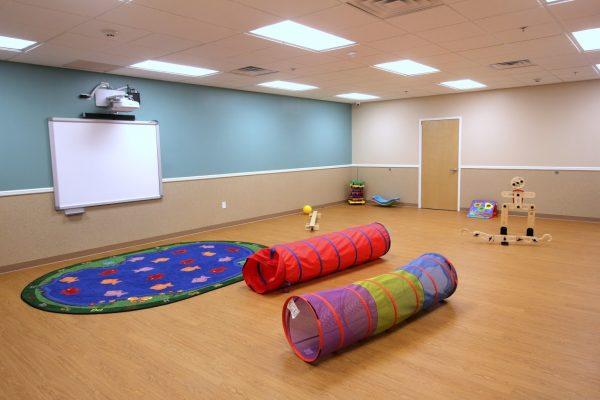 Lightbridge Academy Day Care Center in Millburn, NJ play area