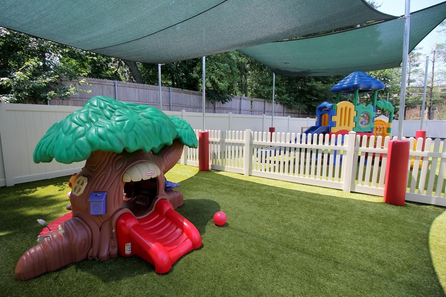 Lightbridge Academy Day Care Center in West Caldwell, NJ playground
