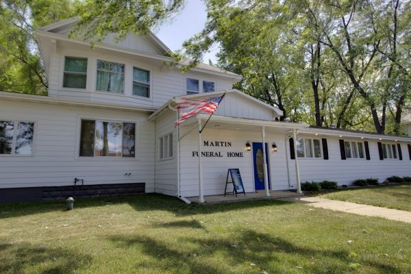Martin Funeral, Cremation & Tribute Services Funeral Home in Fairgrove, MI exterior