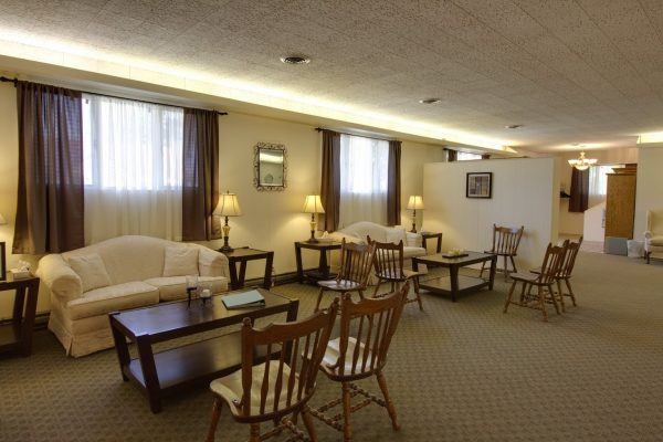 Martin Funeral, Cremation & Tribute Services Funeral Home in Fairgrove, MI waiting area