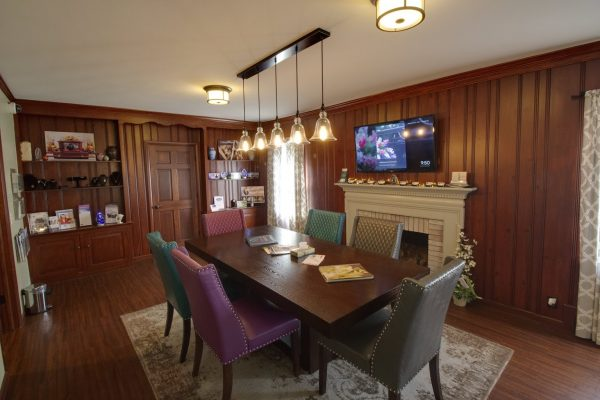 Martin Funeral, Cremation & Tribute Services Funeral Home in Grand Blanc, MI conference room