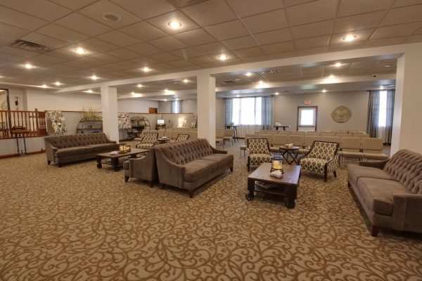 Martin Funeral, Cremation & Tribute Services Funeral Home in Grand Blanc, MI service room