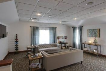 Martin Funeral, Cremation & Tribute Services Funeral Home in Grand Blanc, MI waiting room