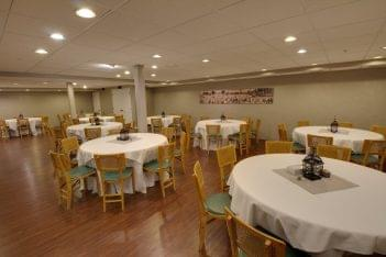 Martin Funeral, Cremation & Tribute Services Funeral Home in Mt Morris, MI event dining area