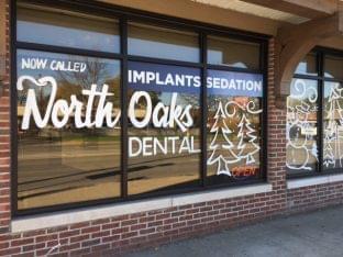 North Oaks Dental Office in Royal Oak, MI front window