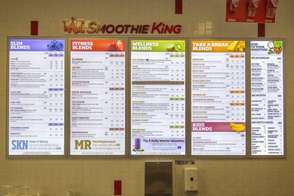 Smoothie King Juice Shop in Marlton, NJ menu