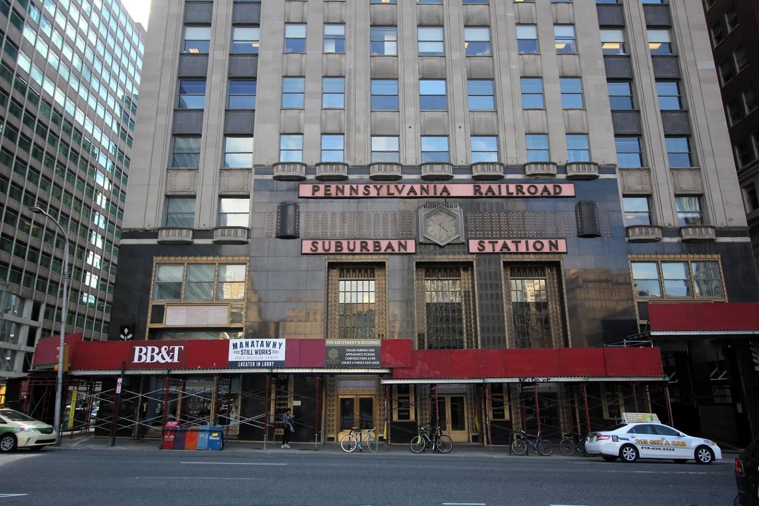 Suburban Station Shops, Retail Space Rental Agency in Philadelphia, PA exterior facade