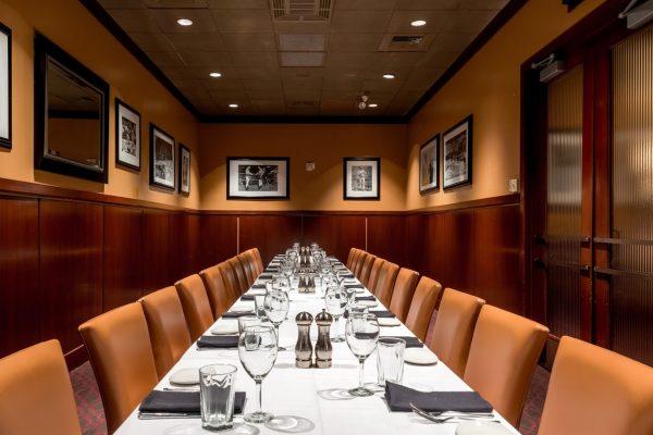 Sullivan's Steakhouse restaurant in Baton Rouge, LA private dining room