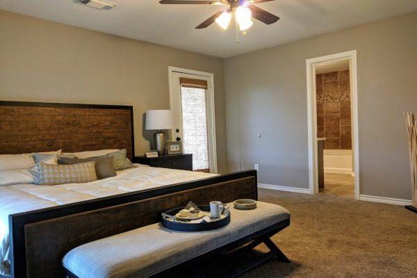 United Built Homes Custom Home Builder in Terrell, TX bedroom