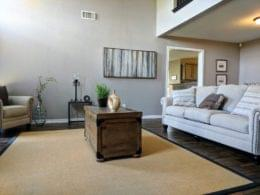 United Built Homes Custom Home Builder in Terrell, TX living room