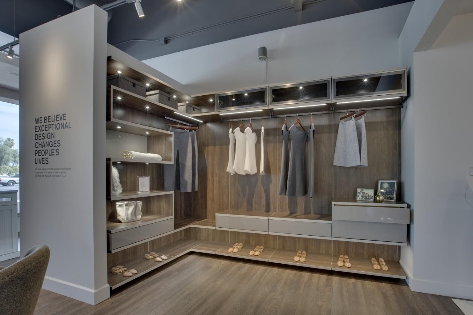California Closets Interior Design in Chandler, AZ closet organizer