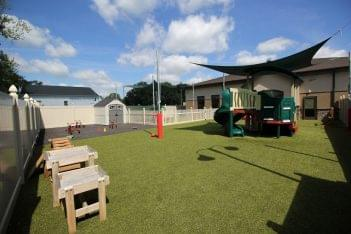 Lightbridge Academy Day Care Center in Garnet Valley, PA outdoor play ground