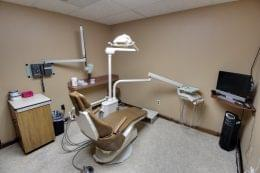Sedation Dentistry Center of Michigan in Roseville, MI dental office dentist chair