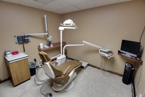 Sedation Dentistry Center of Michigan in Roseville, MI dental office dentist chair