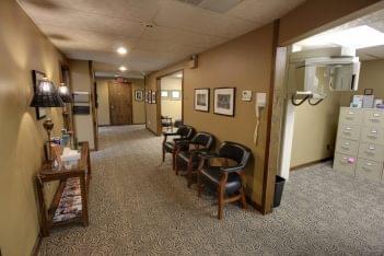 Sedation Dentistry Center of Michigan in Roseville, MI dental office hallway