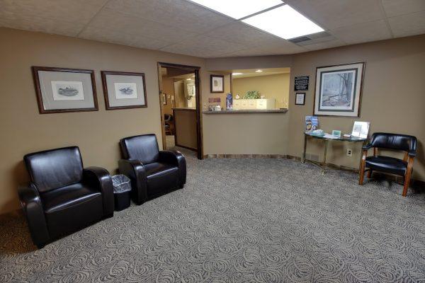 Sedation Dentistry Center of Michigan in Roseville, MI dental office reception