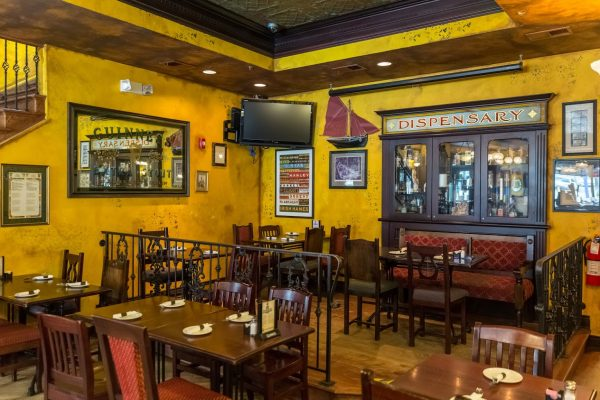 interior of Molly Maguire's Irish Restaurant & Pub in Phoenixville, PA