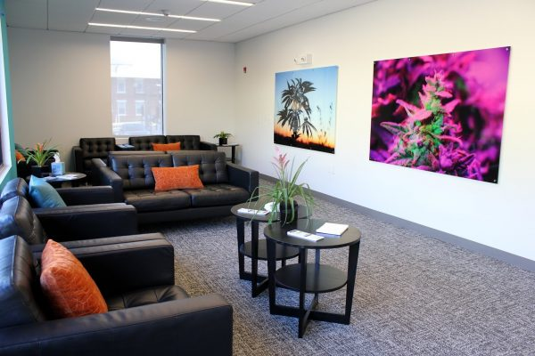 room at Restore Integrative Wellness Center Cannabis store in Elkins Park, PA