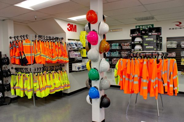 Professional Contractor Supply Hardware store in San Diego, CA yellow vests helmets gilets jaunes
